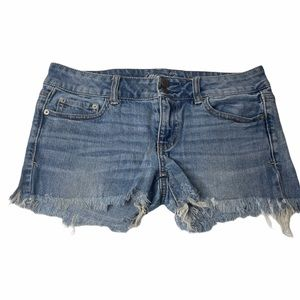 American Eagle Outfitters Artist Blue Denim Shorts